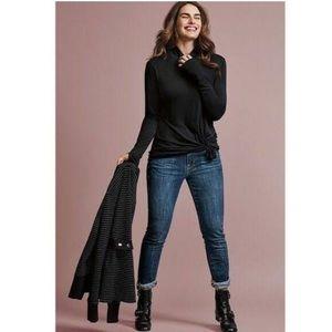 CAbi #3385 Dover Skinny Medium Wash Jean